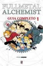 capa de Fullmetal Alchemist Guia Completo #01