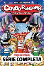 capa de Combo Rangers Revolution - Edição Especial Série Completa