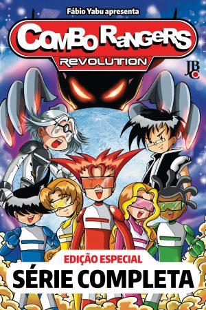 capa de Combo Rangers Revolution