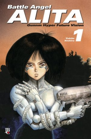 capa de Battle Angel Alita Digital #01