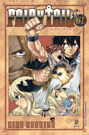 capa de Fairy Tail #61