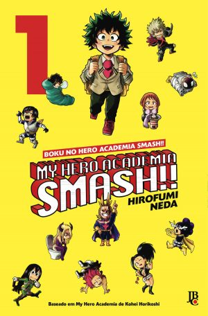capa de My Hero Academia Smash!! #01