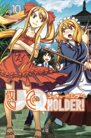 capa de UQ Holder! #10