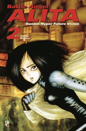 capa de Battle Angel Alita Digital #02