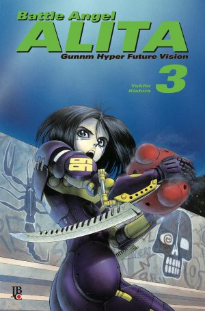 capa de Battle Angel Alita Digital #03