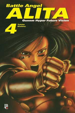 capa de Battle Angel Alita Digital #04