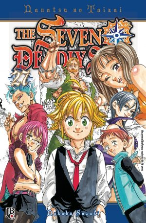 capa de The Seven Deadly Sins #27