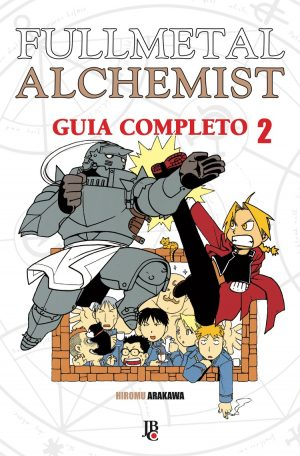 capa de Fullmetal Alchemist Guia Completo #02