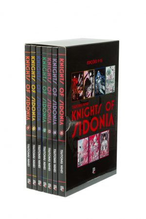 capa de Box Knights of Sidonia #02