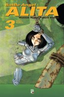 capa de Battle Angel Alita - Gunnm #03