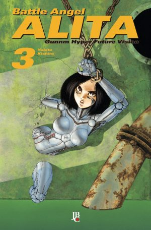 capa de Battle Angel Alita - Gunnm #03