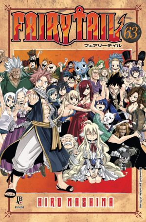 capa de Fairy Tail #63