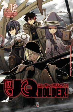 capa de UQ Holder! #12