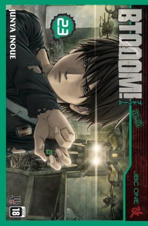 capa de Btooom #23