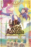 capa de Little Witch Academia #01