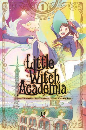 capa de Little Witch Academia #01
