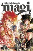 capa de Magi: O Labirinto da Magia