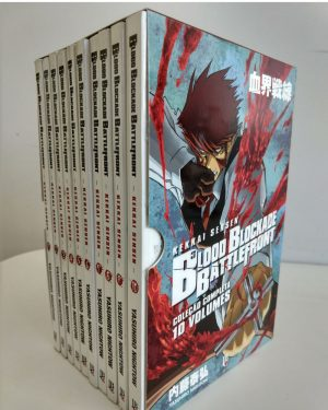 capa de Box – Blood Blockade Battlefront