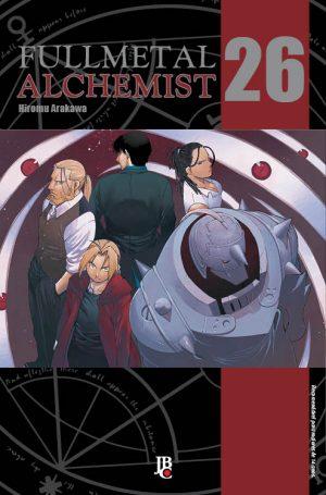 capa de Fullmetal Alchemist ESP. #26