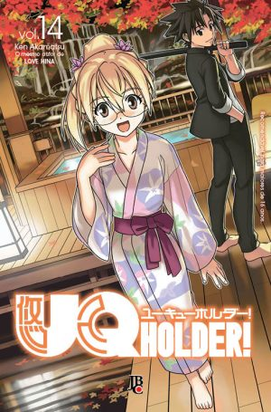 capa de UQ Holder! #14