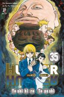 capa de Hunter x Hunter #35