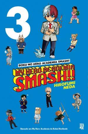 capa de My Hero Academia Smash! #03