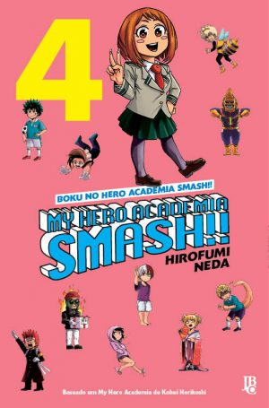 capa de My Hero Academia Smash! #04