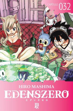 capa de Edens Zero Capítulo #032