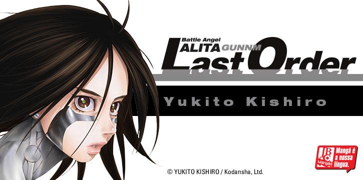 Lançamento: Battle Angel Alita – Last Order