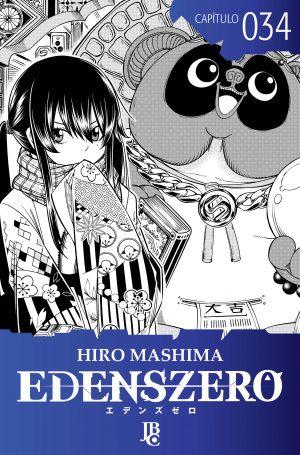 capa de Edens Zero Capítulo #034