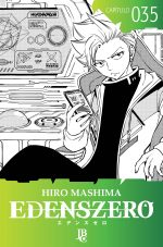 capa de Edens Zero Capítulo #035