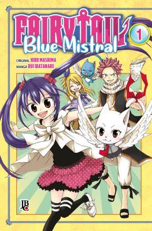 capa de Fairy Tail Blue Mistral #01