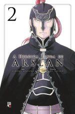 Capa de A Heroica Lenda de Arslan #02