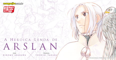 Lançamento: A Heroica Lenda de Arslan