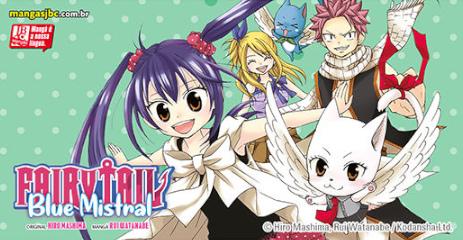 Coleção completa: Fairy Tail Blue Mistral