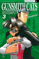 capa de Gunsmith Cats Burst vol.3