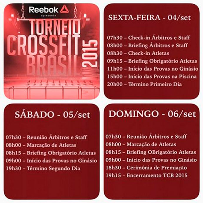 TorneioCFBR-Schedule