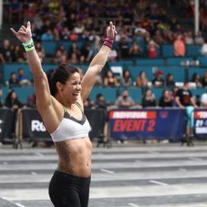 Chyna Cho vibra pela performance no Evento 2 dos Games 2016.
