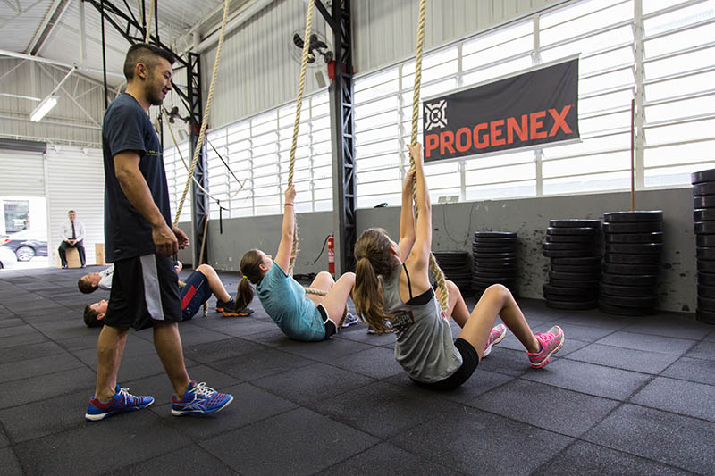 CrossFit Kids e Teens na CrossFit Sampa